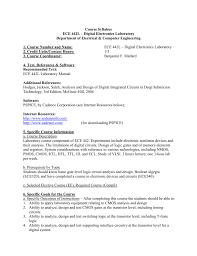 Vlsi Design Lab Manual For Ece Ece 442l