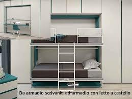 Camere Da Letto Salvaspazio : Letti trasformabili e salvaspazio perfetti per un monolocale