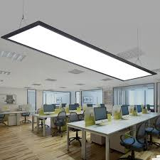 lights for office. Modern Black LED Panel Light Led Integrated Ceiling Lamp Office  Chandeliers Lights Acryl For T