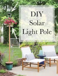 creative diy lighting 3 solar light pole