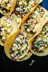 sweet corn and black bean tacos recipe