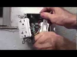 how to wire a 20 amp gfci receptacle and a switch for exterior use how to wire a 20 amp gfci receptacle and a switch for exterior use