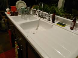love kitchen sink pauper candles living sustainable dream our farmhouse with drain board double under organizer