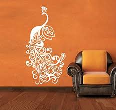 Small Picture Buy Peacock Wall Sticker Decal Online at Low Prices in India