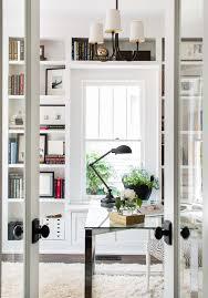White airy home office Scandinavian White Airy Home Office Inspired By This White Airy Home Office Livvylandblogoliviawatsonwestelmhomeoffice