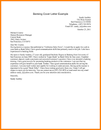 12 Personal Banker Cover Letter Examples Address Example