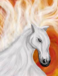 stunning feng shui workplace design. Horses Symbolize The Feng Shui Element Of Fire As Well Success, Fame, Freedom And Speed. This Stunning Painting Depicts Mighty Horse In Its Workplace Design