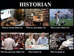Here is a fun one for our History majors-Historian Career Meme ... via Relatably.com