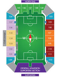Orlando City Lions Citrus Bowl Seating Map For 2015