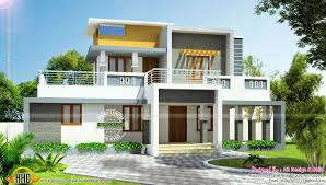 small modern house plans flat roof house plans with flat roof kerala lovely single bedroom flat