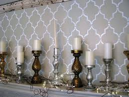 full size of wall stencils on focal walls design chandelier for painting image of agreeable lighting