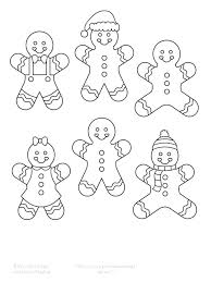 Blank Gingerbread Man Coloring Page Elegant And Pixels Proandroidinfo