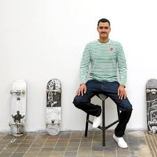SA artist Robin Rhode's designs will grace limited-edition skateboards