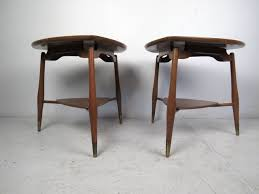 modern end tables. Mid-Century Modern Pair Of Mid Century End Tables By John Widdicomb For Sale