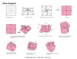 Paper Flower Lyrics Origami Flower Rose How To Make Rose Paper Flower Easy Origami