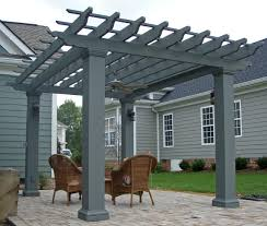 square fiberglass outdoor pergola kit column centers 12 x 12 chadsworth columns columns com