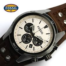 cameron rakuten global market fossil fossil men x27 s watches fossil fossil men s watches men s watches うでどけい leather leather belt chronograph ch2890
