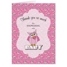 Owl Baby Shower Invitations  Cute Baby Shower InvitationsOwl Baby Shower Thank You Cards