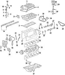 parts com® chevrolet bearings hummer h3 3 7l no 1 2 3 5 2004 chevrolet colorado ls l4 2 8 liter gas crankshaft bearings