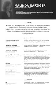 Administrative Assistant Resume Sample Administrative Assistant Resume samples VisualCV resume samples 45