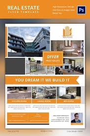 Real Estate Brochure Template Free Real Estate Flyers 52 Free Psd Ai Vector Eps Format