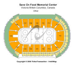 Save On Foods Memorial Centre Victoria Seating Chart Victoria Royals Vs Everett Silvertips Tickets Sat Mar 21