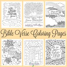 Free Printable Bible Coloring Pages With Scriptures 2019