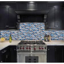 Glass Tile Kitchen Backsplash Designs Awesome Decoration
