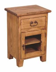 handmade rosewood nightstand with forged iron hardware india overstock ping top rated nightstands south dakota nightstands