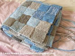17 best Knitting inspiration images on Pinterest | Carpets ... & Laura Howard of Bugsandfishes' knitted patchwork blanket - called the sky  blanket, namely coming Adamdwight.com