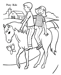 Small Picture Coloring Page Horsesgif 670820 art crafts Pinterest