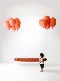 Floating Balloon Bench