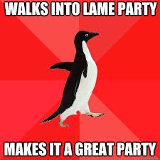 Socially Awesome Penguin memes   quickmeme via Relatably.com