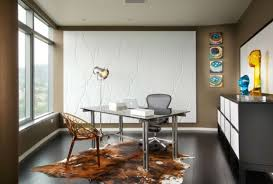 home office layouts ideas chic home office. Beautiful Chic Office  Chic Modern Home Design Ideas With Rectangle Grey  Glass Table And Comfortable Chair Also Cowhide Red Rug Added White  Intended Layouts