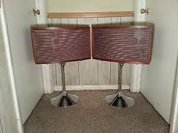 bose 901 vintage. vintage bose 901 continental wired floor standing speakers and chrome stands m