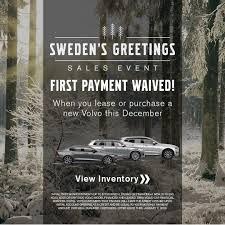 Volvo Sweden S Greetings Sales Event Volvo Cars Volvo Volvo Models