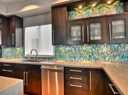 sea glass backsplash kitchen home design ideas