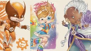 X-Men are extra dazzling as characters from 'Rainbow Brite'