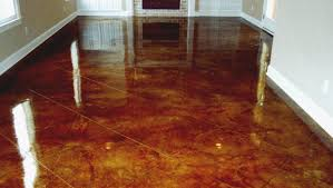painting a cement floorPainted Concrete Floors Ideas  Home Design