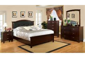 Made In America Bedroom Furniture Import Furniture Of America Traditional Bedroom Set Brown Cherry