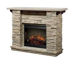 excellent dimplex electric fireplace with rustic manle design