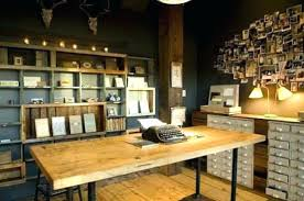 awesome home office ideas. Rustic Office Decor Awesome Home Designs Ideas . O