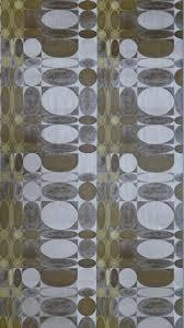 Bruin Geel Geometrisch Patroon Vintage Behang Funkywalls Dé