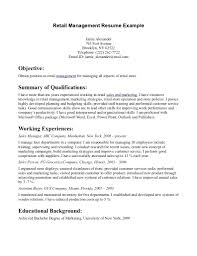 Objective For Resume In Sales Resume Sales Manager Resume Objective