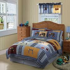 Construction Quilt Set - Bed Bath & Beyond & Construction Quilt Set Adamdwight.com