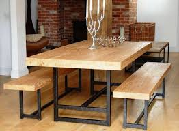 metal and wood dining table. Real Wood Dining Table Awesome Entranching Metal Kitchen Room Design And Decoration