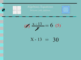 transform algebra division solve for x with section 10 2 solving two step equations math