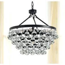 clarissa crystal drop round chandelier reviews antique black 5 light free bronze