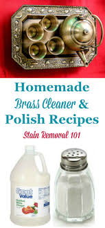 Several homemade brass cleaner and polish recipes, for both laquered and  unlaquered brass {on ...