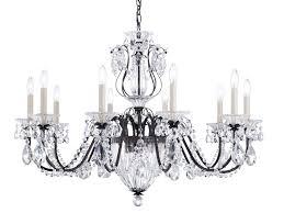 chandelier with swarovski crystals bale chandelier by schonbek